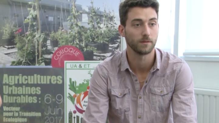 Interview en LSF de Florian Champoux, co-fondateur de «Terreauciel»