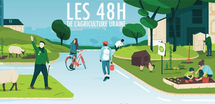 Les 48h de l'agriculture urbaine : 4 & 5 mai 2019