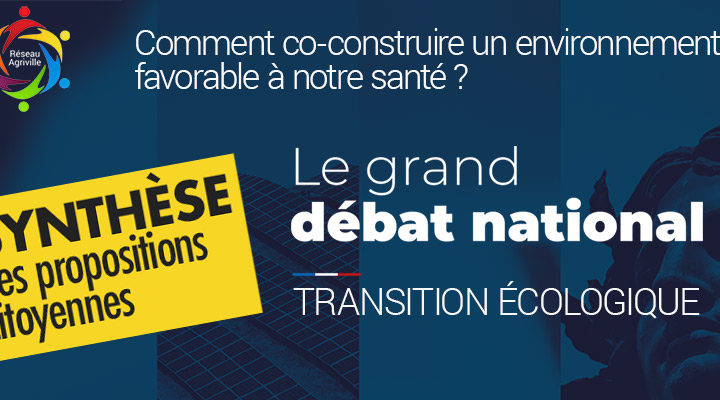 Transition écologique : synthèse des propositions suite au Grand Débat National