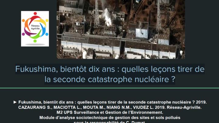 Fukushima, bientôt dix ans : quelles leçons tirer de la seconde catastrophe nucléaire ?