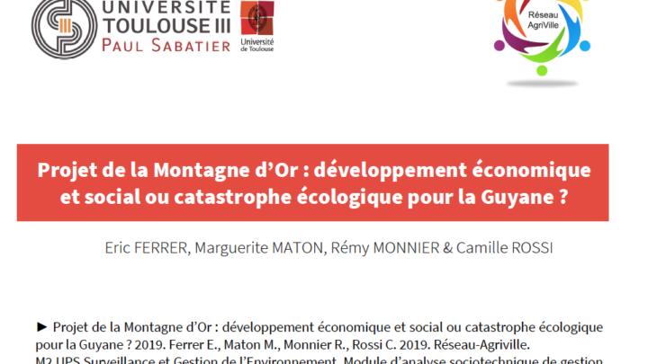 La Montagne d'Or : développement économique et social ou catastrophe écologique ?