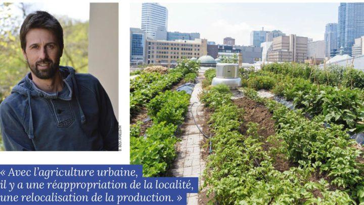 L'agriculture urbaine se situe dans son temps