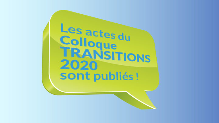 Les actes du Colloque International T2020